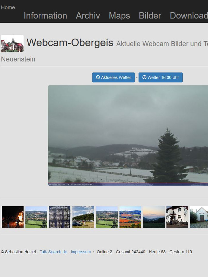 Webcam Obergeis